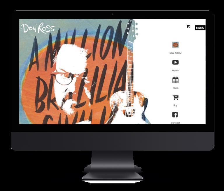 Don Ross – E-Commerce & Website Design