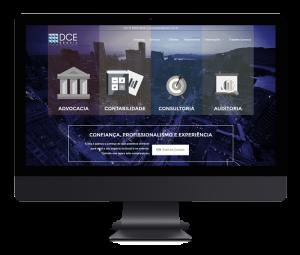 DCE Brasil – Branding & Web Site Design