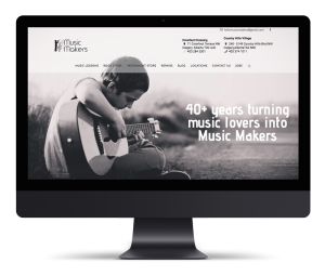 Music Makers Calgary – Branding & Website Design